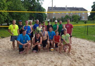 Sventes pagasta čempionāts pludmales volejbolā