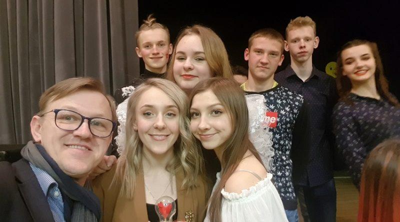 Sventes jaunieši pasākumā, veltītā Valentīndienai Dubnā